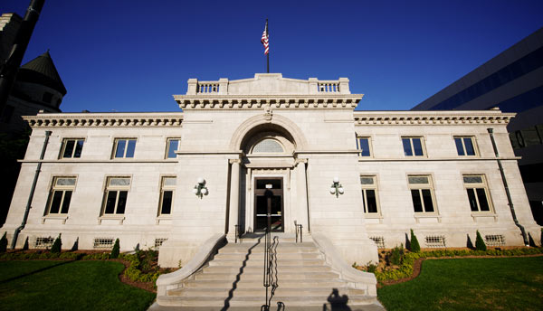 Wichita Carnegie Library prior to 2009