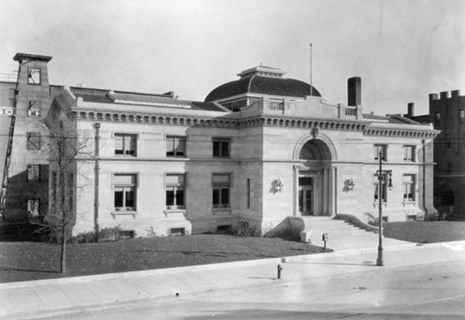 Wichita Carnegie Library 1915